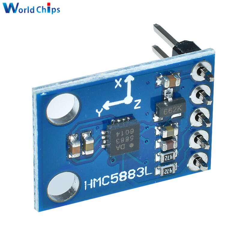 GY-273 3 V-5 V HMC5883L eje triple brújula Módulo sensor magnetómetro tres ejes campo magnético módulo para Arduino