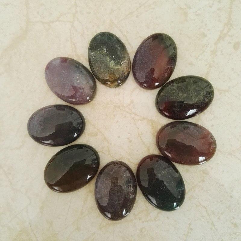 Moda dobrej jakości kamień naturalny indie onyx koraliki 12 sztuk urok kabiny koraliki typu kaboszon do tworzenia biżuterii pierścień dodatki bez otworu