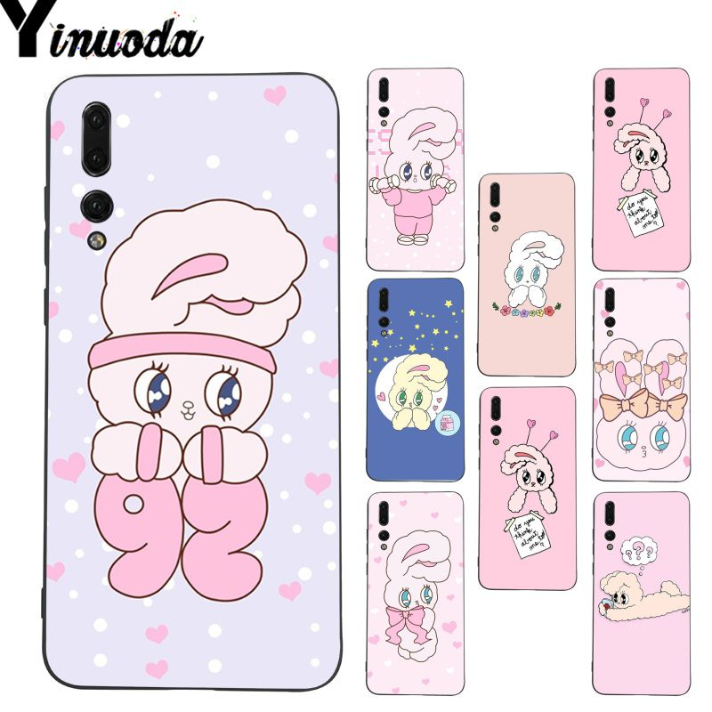 Yinuoda Pink Korean chuu esther kim rabbit Coque Phone case for Huawei P9 P10 Plus Mate9 10 Mate10 Lite P20 Pro Honor10 View10