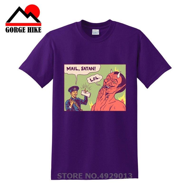 2019 correo Hail Satan camiseta pentagrama rock gótico impía satánico emo punk alternativa regalo de moda streetwear tee camisa hombre