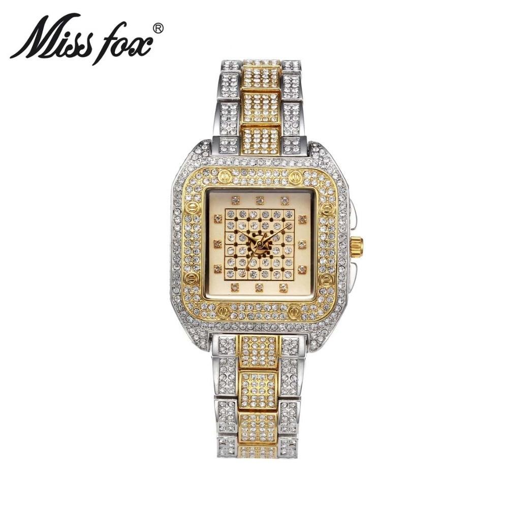 Relógios de Pulso para Mulheres Relógio de Forma Relógios à Prova Relógio de Quartzo Senhorita Carter Marca Senhoras Quadrado Casuais Mulheres d' Água Feminino Fox