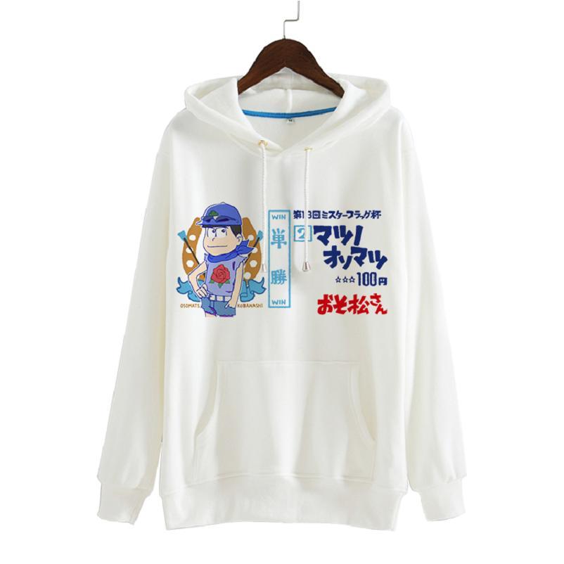 High-Q Unisex osomatsu-san KARAMATSU sudaderas con capucha jerseys chaqueta osomatsu-kun JYUSHIMATSU sudaderas con capucha chaqueta abrigo sudaderas