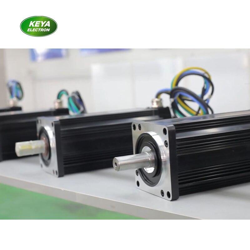 Precio al por mayor de alta torque 48v 2kw CC servomotor sin escobillas para vehículo agv inteligente