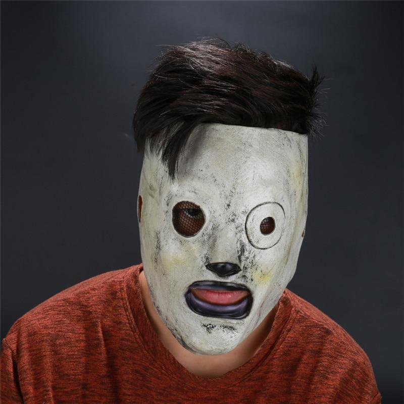 Takerlama Slipknot máscara Corey Taylor máscara de látex Cosplay TV Slipknot máscara Halloween accesorios para Cosplay