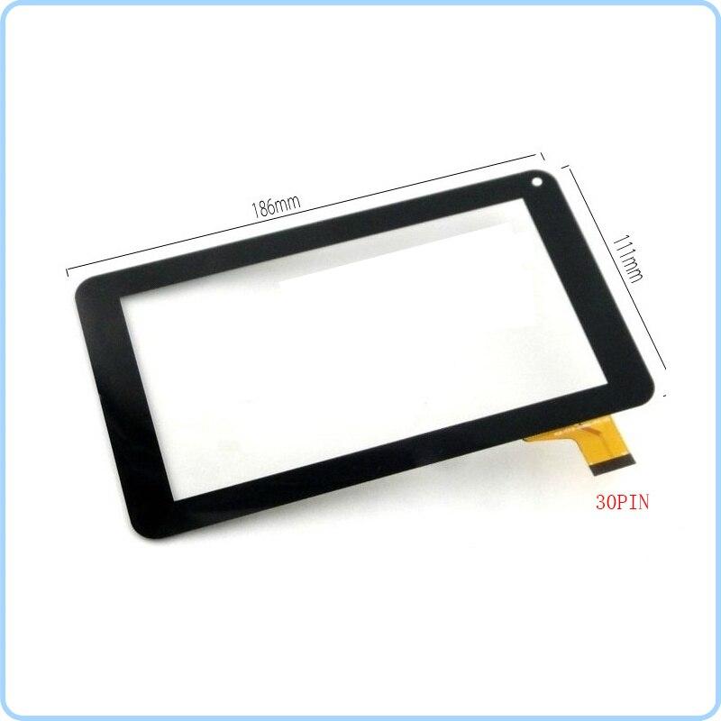 Novo painel de sensor de vidro digital com tela sensível ao toque de 7 unidades para tv positivo t710 t701tv/t701