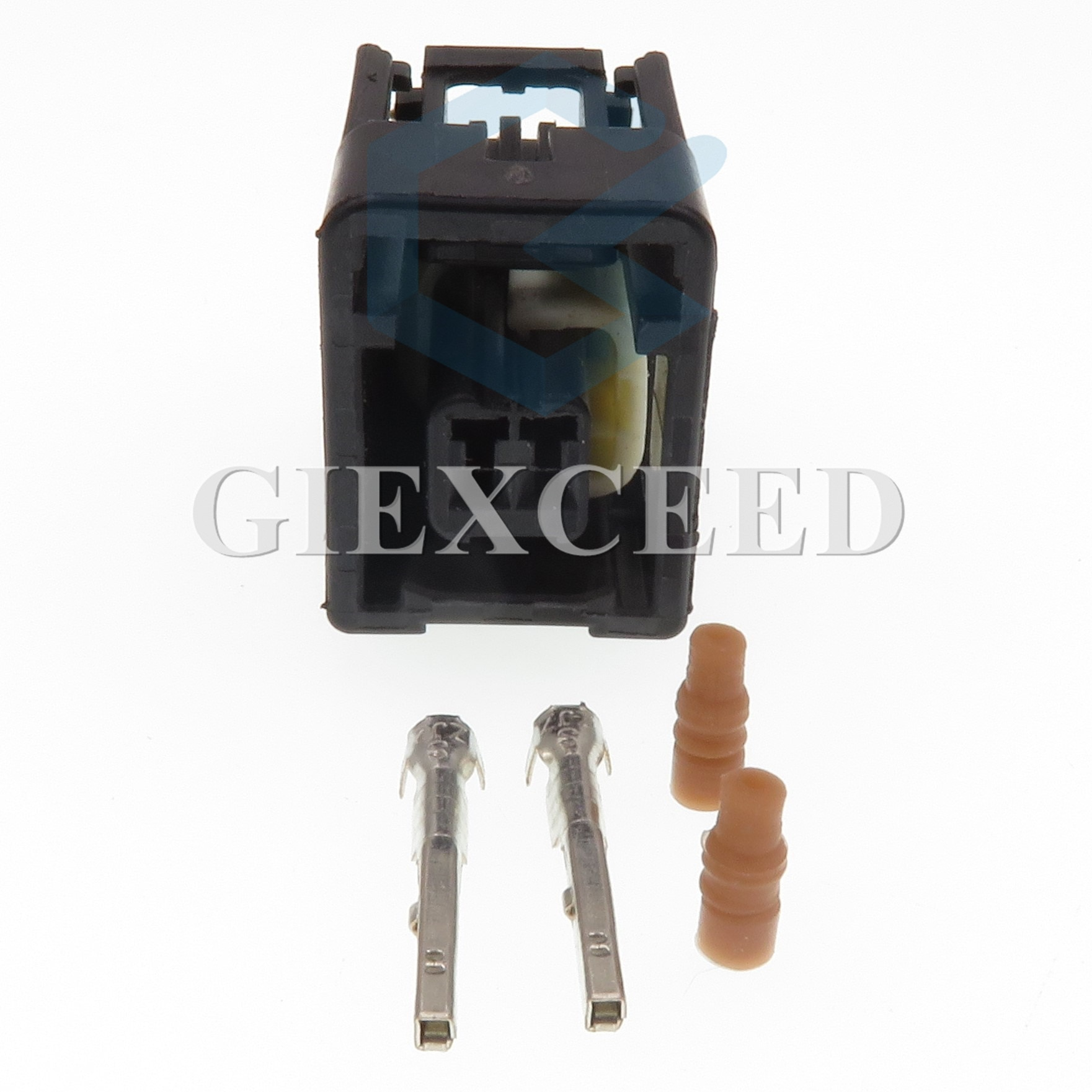 2 Sets 2 Pin 7283-6078-30 Female Automotive Connector Waterproof Wire Connectors