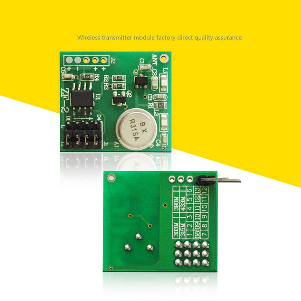 Alta estabilidad circuito PCB micro 4ch Control remoto dc9v-12v RF módulo transmisor inalámbrico transmite la señal 10 unids/lote