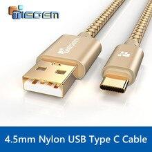 TIEGEM USB Type C Câble USB C 3.1 Type-C Rapide Sync & Charge Câble Pour Huawei P9 Compagnon 9 HTC 10 LeEco 2 Zuk z1 z2 Sony USB-C