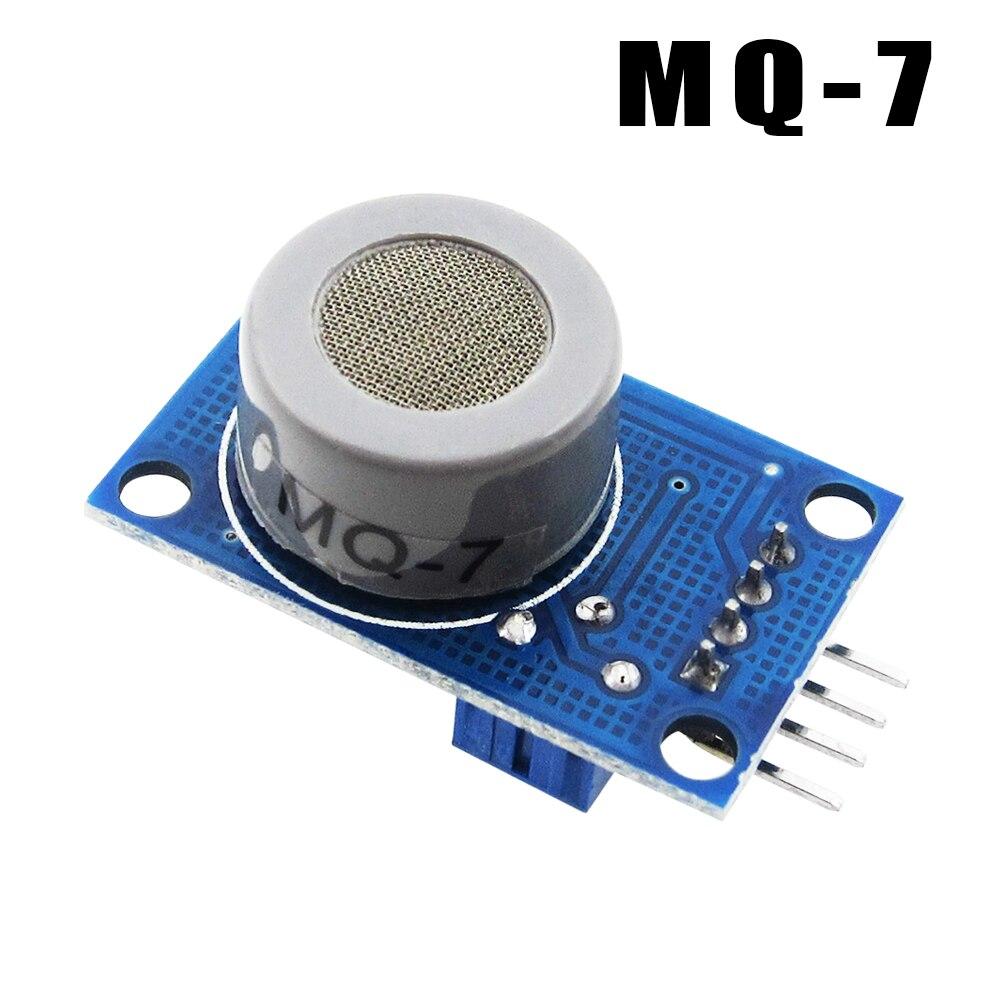 HAILANGNIAO 10 unids/lote MQ-7 Módulo de monóxido de carbono sensor de gas alarma de detección MQ7 sensor módulo