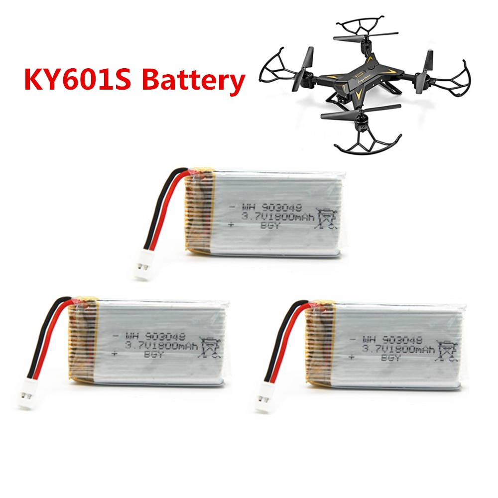 KY601S Battery 3.7V 1800mAh Lipo Battery RC Quadcopter Toys Accessories Spare Parts