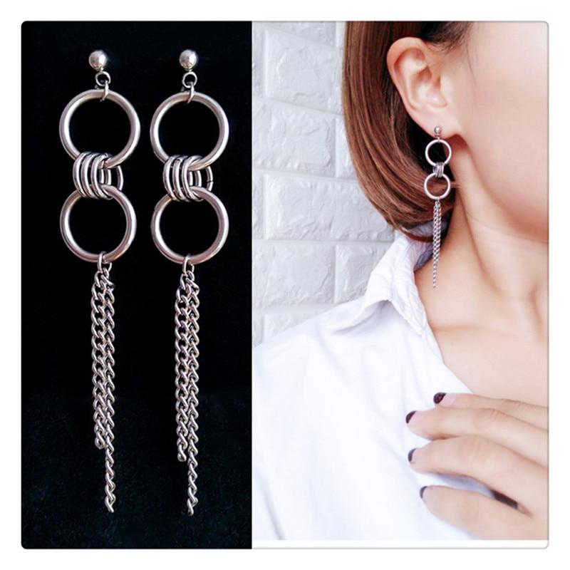 2pcs/lot KPOP  Bangtan Boys Album V DNA Stud Earrings Korean Fashion Jewelry Accessories For Mens And Womens Serial Earring