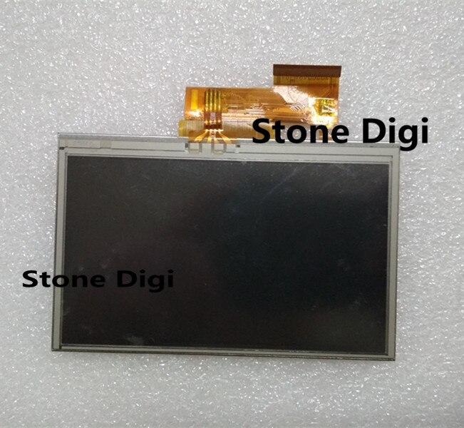 Envío Gratis AT043TN24 V.4 AT043TN24 V4 4,3 pulgadas LCD panel de pantalla + pantalla táctil para Garmin Nuvi 1340, 1350, 1370, 1390