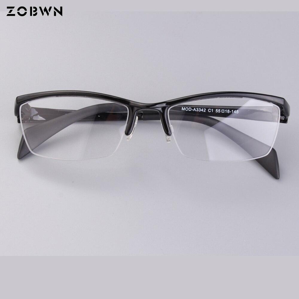 Monturas de moda clásicas de negocios quadros gafas de ordenador Oculos de Grau hombres mujeres transparentes gafas antireflectantes Anti UV