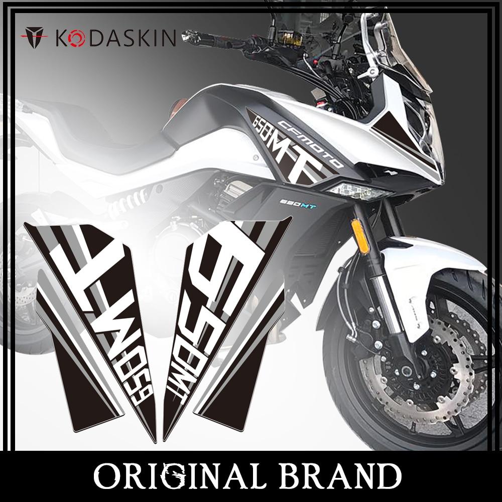 Pegatina de carenado 2D para motocicleta KODASKIN, pegatina de rasguño para Motor para accesorios CFMOTO 650mt 650MT