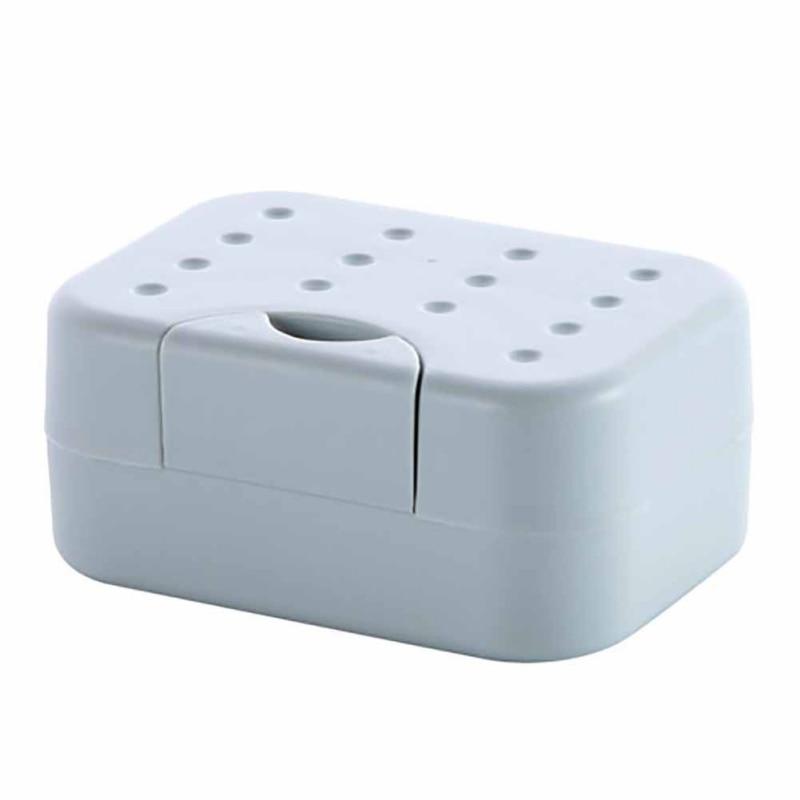 Новинка 2018, прямоугольный пластиковый мыльница, держатель для мыла, гигиенический, легко носить с собой, контейнер для мыла, принадлежности ...