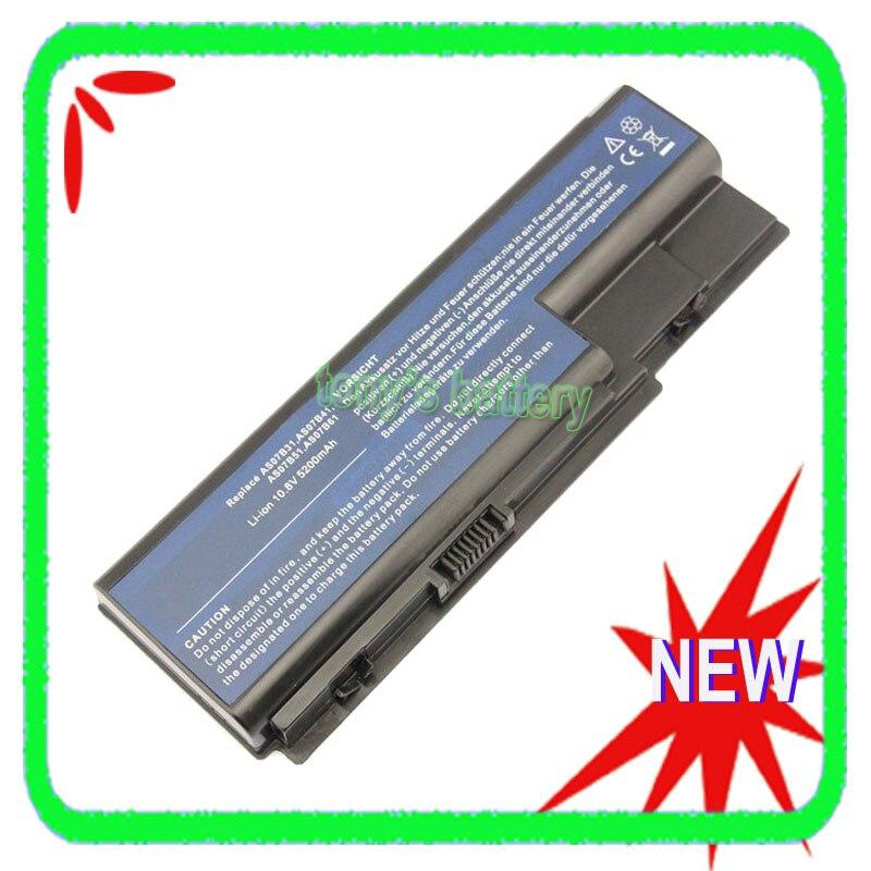6Cell 5200mAh batería para Acer Aspire 5530, 5710, 5730, 5920, 5930G 6935G...