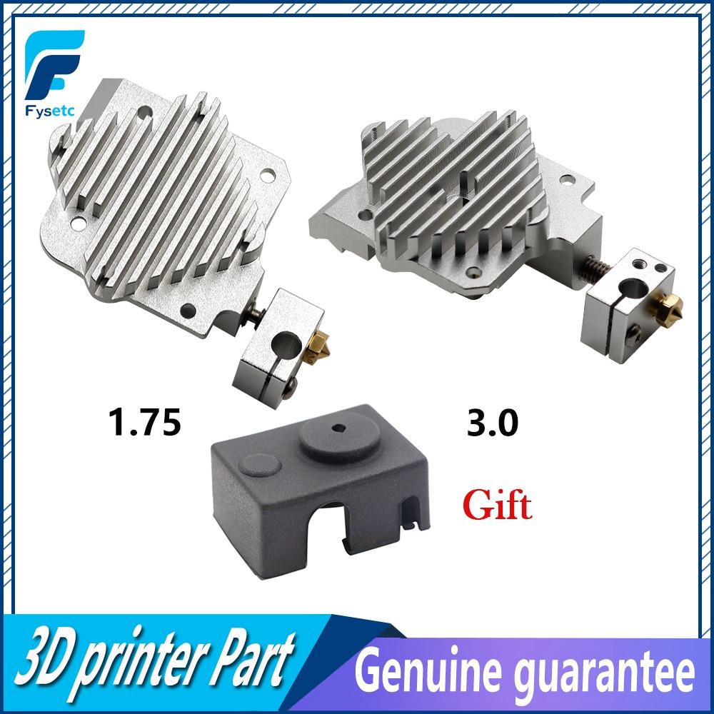 Titan Aero And V6 Aero Heatsink 1.75mm Or 3.0mm Upgrade Titan Extruder V6 Hotend Heat Sink For Prusa i3 3D Printer Parts