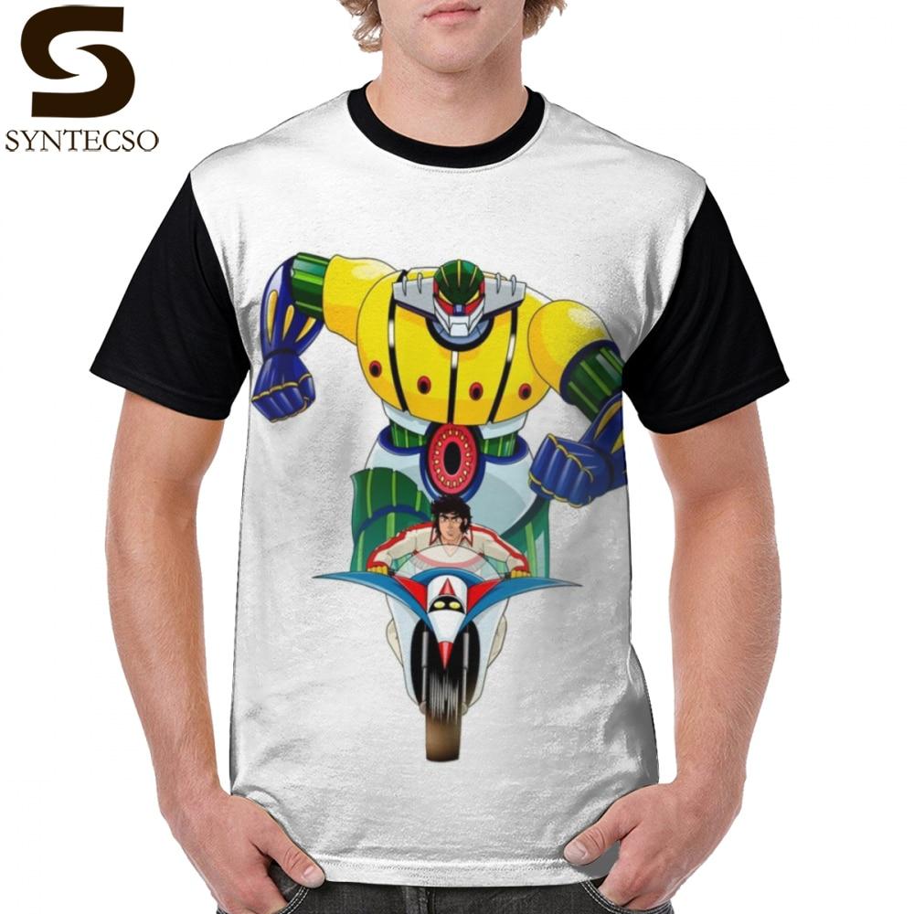Jeeg футболка Kotetsu Jeeg Футболка мужская 100% полиэстер графическая футболка с коротким рукавом с принтом потрясающая 4xl модная футболка