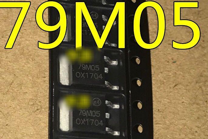 Бесплатная доставка 50 шт./лот 79M05 MC79M05CDT 7905 TO252 Новинка