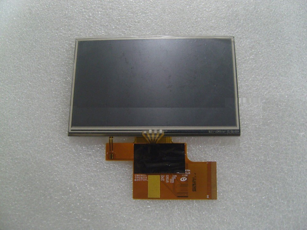 Ling nuevo cable de pantalla gigante original de 5 pulgadas LM1135A01-1B pantalla interna de 50 pines con pantalla táctil GPS