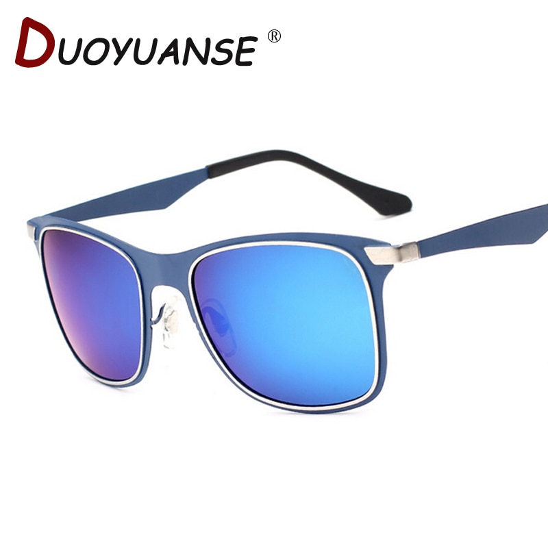 DUOYUANSE new couple polarized sunglasses metal 3521 frog mirror sun glasses wholesale glasses and b