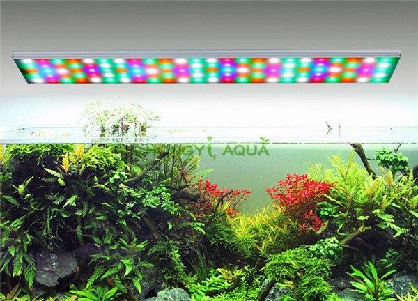 1 unidad Chihiros RGB-Series luces LED para plantas, luz para cultivo de peces, acuario multicolor, luces para plantas, tres colores principales