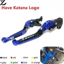 For Suzuki Katana 600 750 GSX 600F 750F GSX600F GSX750F 1998-2006  Adjustable Folding Extendable Motorcycle Brake Clutch Levers