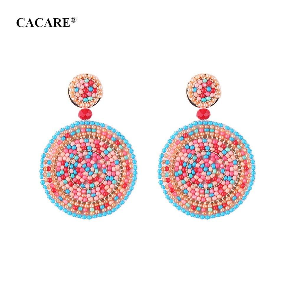 Fashion Big Pendent Earrings Women 2018 CHEAP Ethnic Drop Earing 7 Choices F1083 Carey Earrings Bohemia
