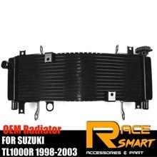 Radiator For SUZUKI TL1000R 1998 1999 2000 2001 2002 2003 TL-1000R  TL 1000R Motorcycle parts Cooling cooler High grade Aluminum