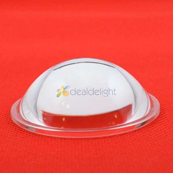 54mm optische glas linse LED flach konvexen objektiv 5-90 grad für DIY 20W 30W Hohe power LED Lampe/Licht Chip