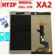 """5,2 """"LCD para sony Xperia XA2 pantalla LCD de montaje de digitalizador con pantalla táctil para sony xa2 H3113 H3123 H3133 H4113 LCD con marco"""