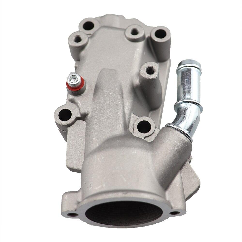 1336.W3 1336W3 Thermostat Housing Coolant Water Flange For Citroen Peugeot C3 I C4 I 206 307 1.4/1.6.6V Aluminium .1336W3