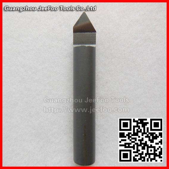 6*60Degree*0.3mm diamond pcd drill bits/PCD Carving Tools, Diamond Router Bits, PCD Diamond Engraving Bits
