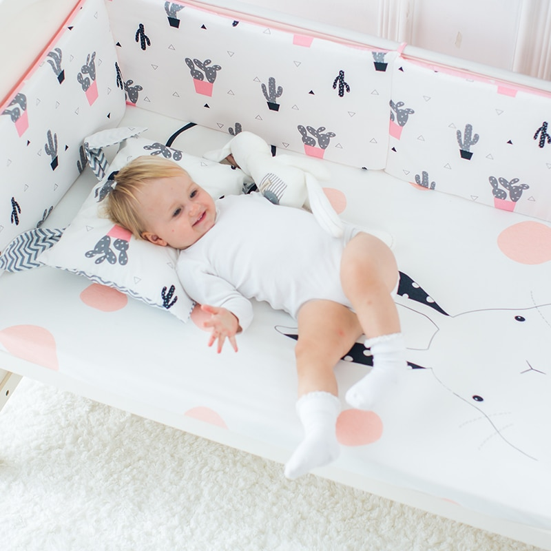 Newborn Baby Crib Sheet Bed Sheet mattress cover  toddler bedding Cot Crib Printing cotton Sheets BMT019