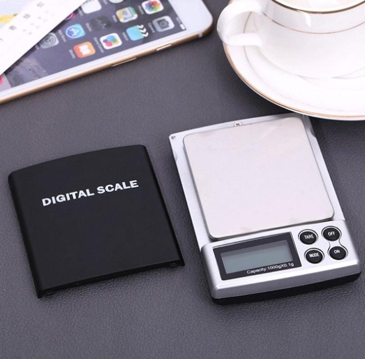 ميزان جيب رقمي صغير ، 200 جرام × 1000 جرام ، للمطبخ ، إلكتروني ، مجوهرات من الذهب الإسترليني ، SN490 ، 0.1 قطعة