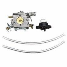 1 ensemble carburateur Carb pour tronçonneuse Walbro WT-89 891 20 324 391 W/coupe dhuile et lignes de carburant accessoires pour outils