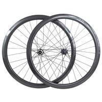carbon wheels 700c road bike wheelset disc 60mm tubular 23/25mm CT31 cyclocross 100 142 Central lock road carbon disc wheels
