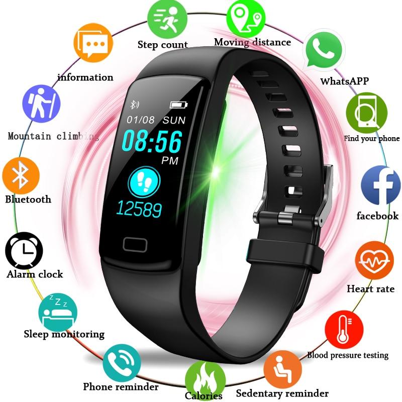 En este momento 2019 marca inteligente reloj pulsera inteligente reloj de los hombres de marca de lujo para IOS Android Teléfono deporte reloj masculino