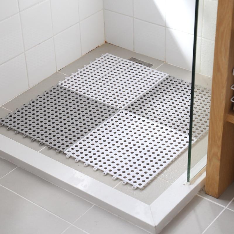 Diy tapete de mosaico, não deslizamento à prova dwaterproof água, iate, sauna, varanda, toalete cozinhas, banheiros alta qualidade tapete banheiro 30x30cm pçs/lote