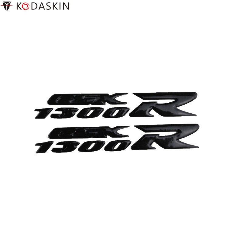 KODASKIN motocicleta 3D Logos levante emblemas pegatinas Calcomanía para Suzuki Hayabusa GSXR1300
