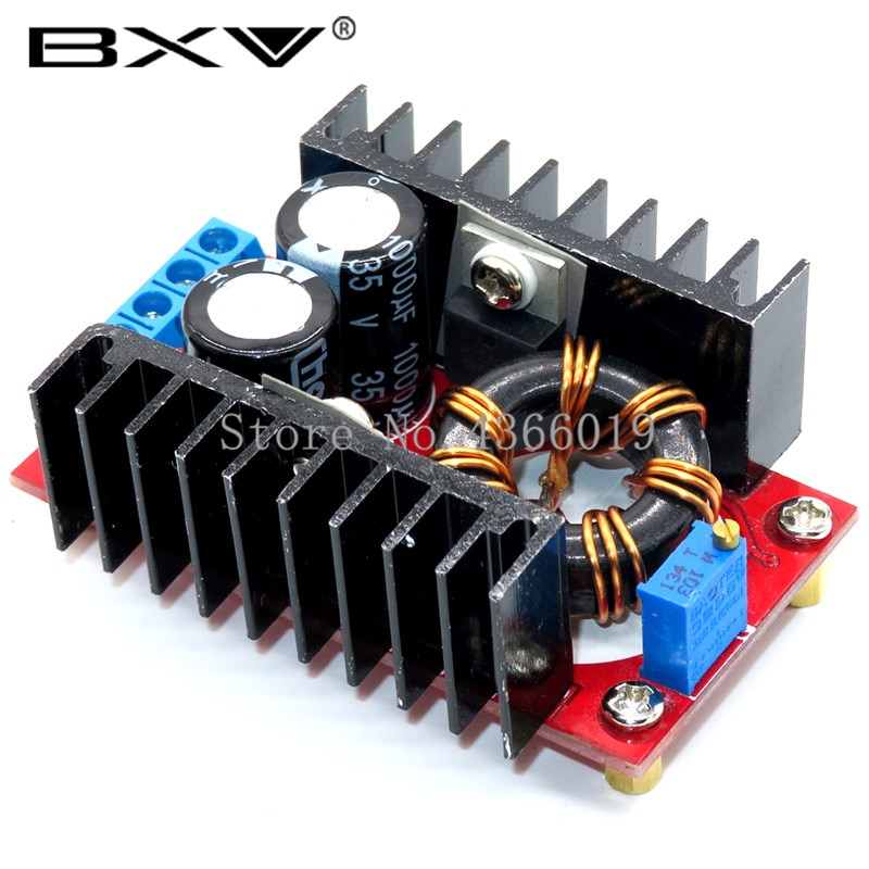 150W DC-DC Boost Converter Step Up Power Supply Module 10-32V To 12-35V 10A Laptop Voltage Charge Bo
