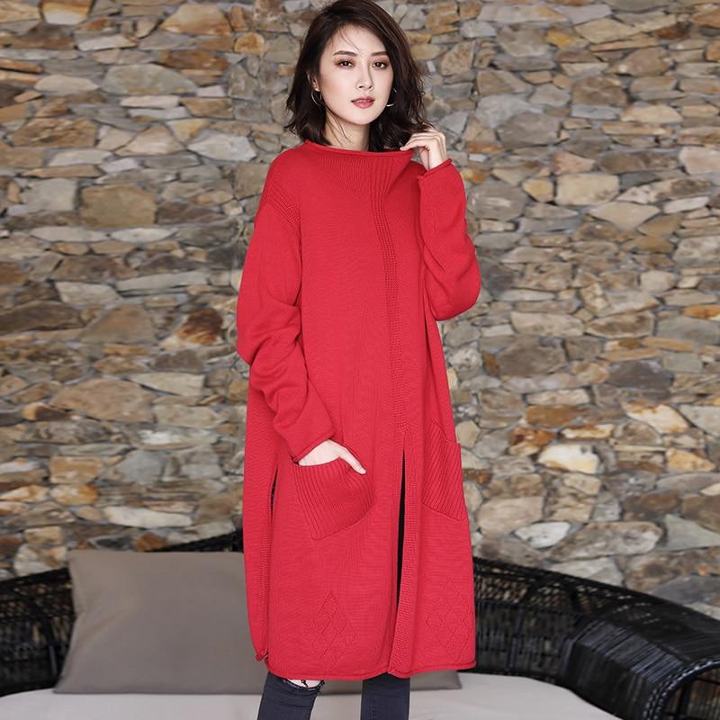 فستان نسائي غير رسمي عالي الجودة ، ملابس ربيعية جديدة ، مقاس كبير ، عصري ، متوسط الطول ، كل شيء ، شق ، سترة ، مجموعة جديدة 2019