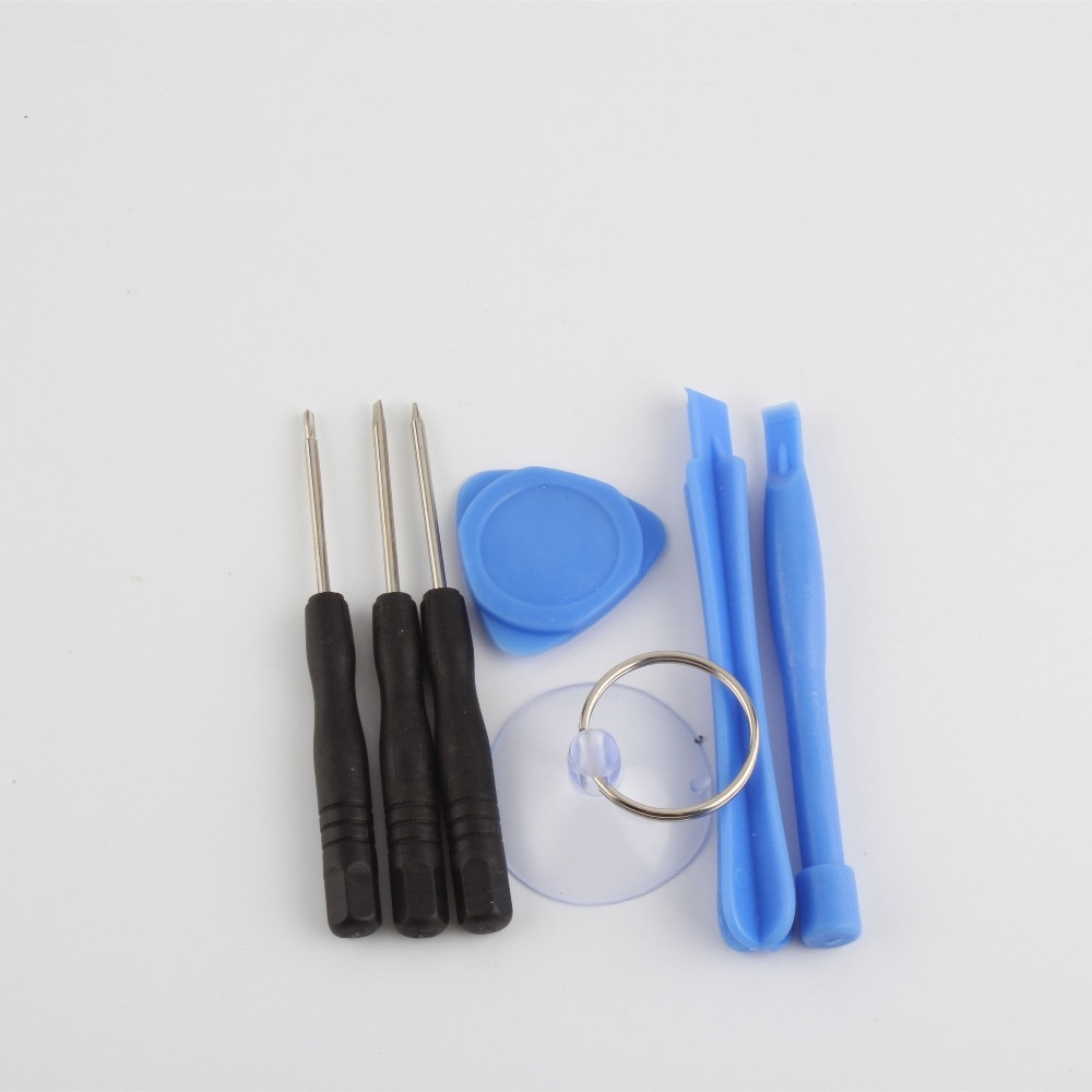 500 conjunto 7 em 1 Chave De Fenda de Abertura Pry Tool Kit de Reparo conjunto para iphone 4 4s 3gs iphone 5 toque livre grátis