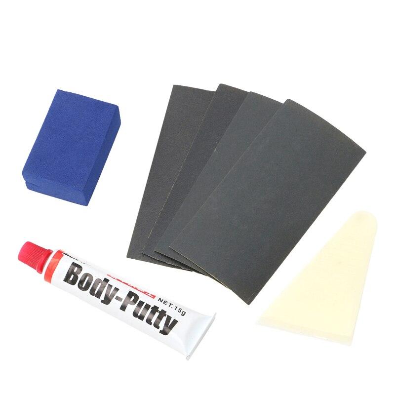 Lápiz de pintura para relleno de rasguños, masilla para cuerpo de coche, herramienta de reparación suave 15g