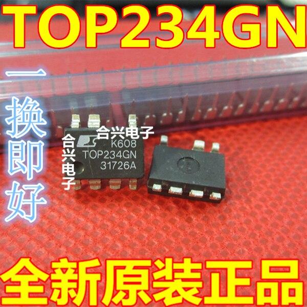 Novo top234gn t0p234gn módulo de fonte de alimentação lcd integrado chip circuito eletrônico ic remendo 7 pés