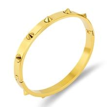 FYSARA acier titane pointes ongles Bracelets pour femme Pulseiras Noeud brassard mode Bracelets & Bracelets hommes Punk Rock bijoux