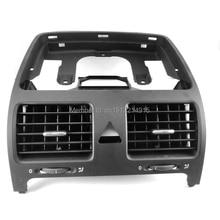 Для VW Jetta Golf GTI Rabbit MK5 MKV черный Передний Dash центральный выход воздуха Vent 1K0 819 728 F 1QB , 1K0 819 728F , 1K0819728F
