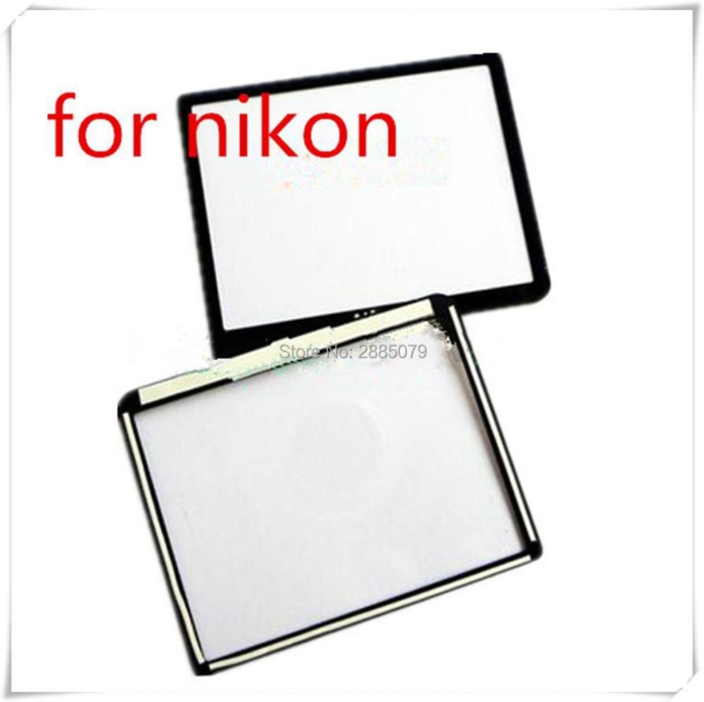 NOVA Janela Screen Display LCD (Acrílica) de Vidro Exterior Para NIKON D80 Camera Protetor de Tela + Fita