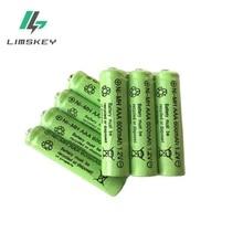 3 pièces/lot AAA 600mAh 1.2 V qualité batterie Rechargeable AAA NI-MH 1.2 V Rechargeable 3A batterie Baterias Bateria AAA 3 * Aa batterie