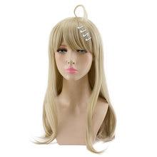 HSIU Kaede Akamatsu Cosplay Wig New Danganronpa V3 Costume Play Wigs Halloween Costumes Hair free shipping NEW High quality